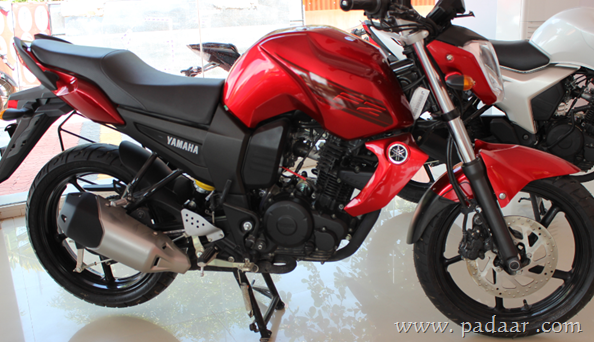 Yamaha fz 16 specifications features onroad price for Yamaha fz back tyre price
