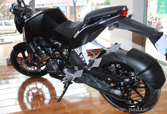 ktm duke 200 specifications, features, on-road price india