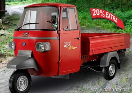 PIAGGIO ape XTRA / XTRA LD Diesel, LPG, CNG-1,05,000 Rs-price