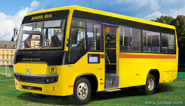 Ashok Leyland Mitr-school & regular bus @12 5 lakhs-price